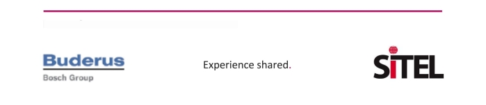 Buderus Bosch Group - Experience shared - Sitel